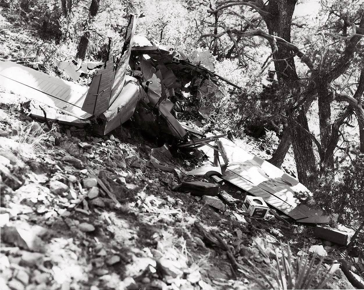 T-34B crash photo