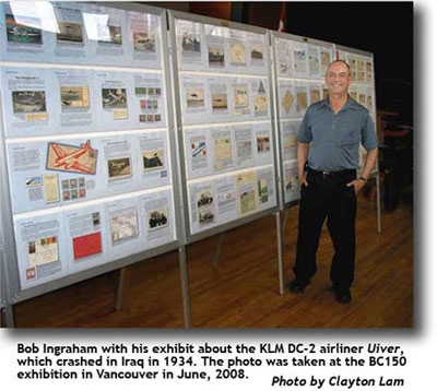 Bob Ingraham at BC150 exhibition