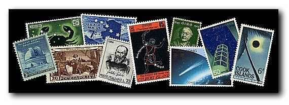 Collecting stars on stamps for Stampe minuscole